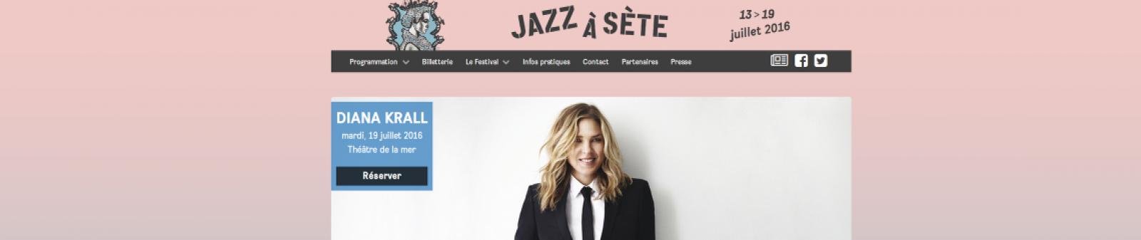 Bannière Jazz à Sète