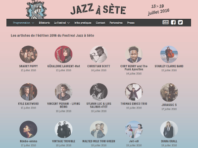 Festival Jazz à Sète